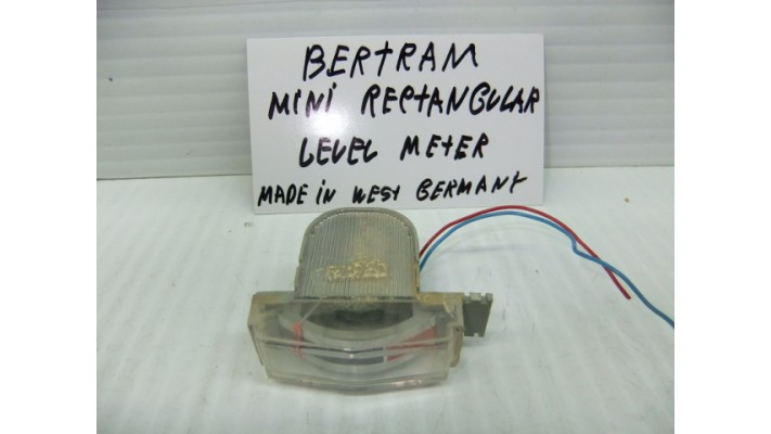 Bertram mini rectangular  level meter