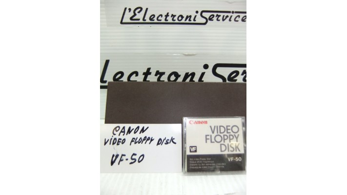 Canon VF-50 video floppy disk .