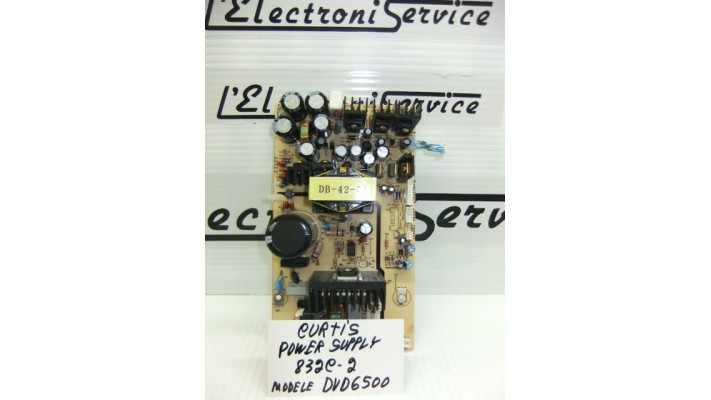Curtis 832C-2  module power supply board DVD6500
