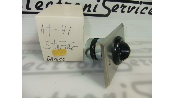 Daveco AT-41ST 8 ohms 10 watts controle volume