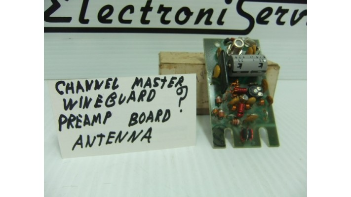 Pre-amp board for Channel Master antenna.