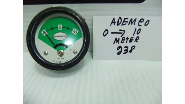 Ademco 238 analogue  meter 0 a 10ma