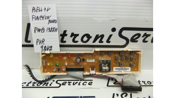 Bell TV 9242 module function .