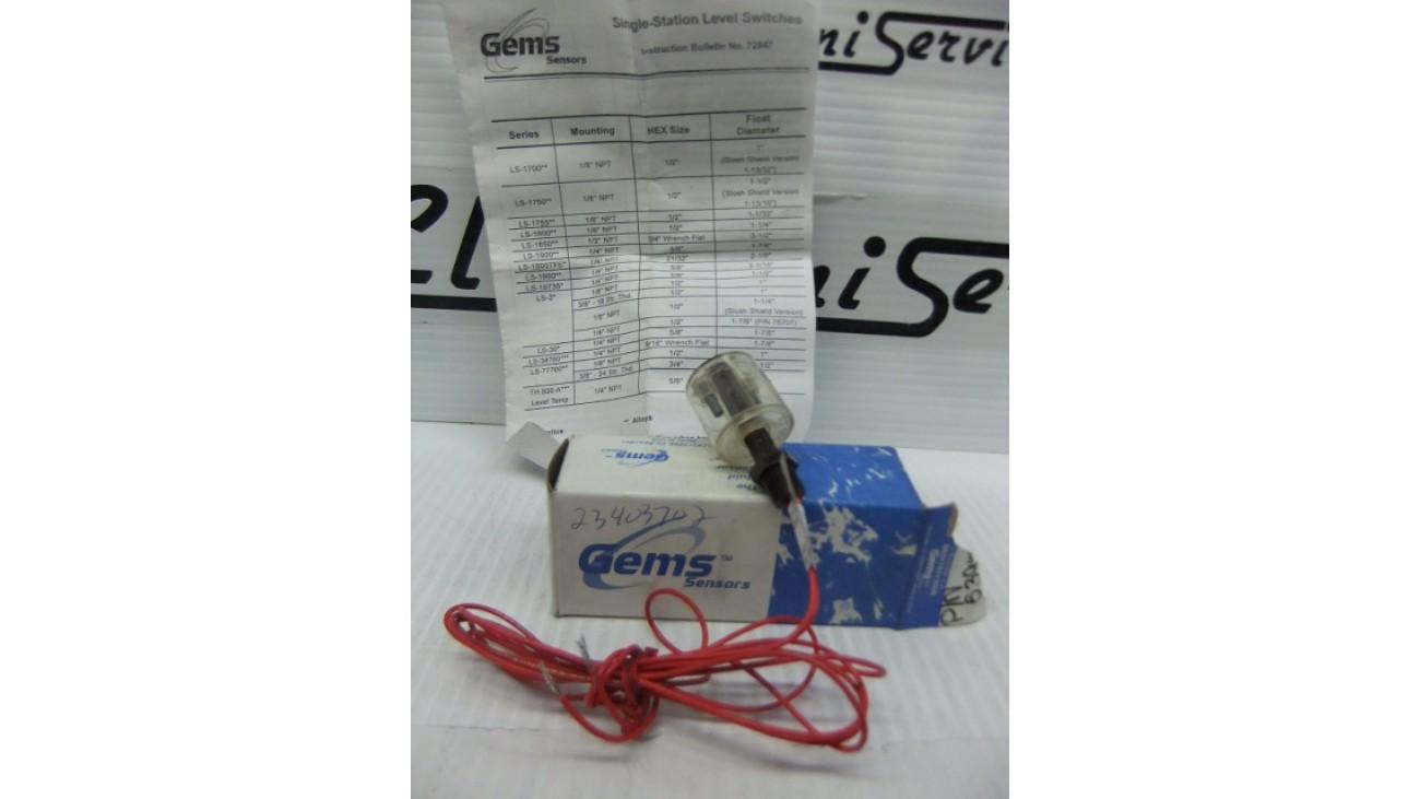 Gems Sensor LS-3 level switch